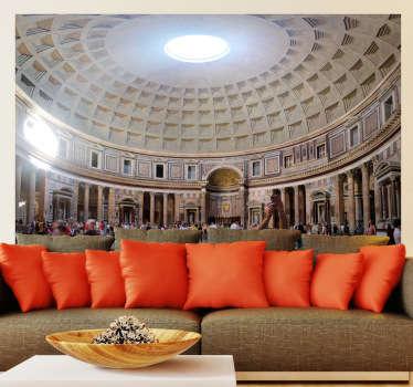 Naklejka dekoracyjna wnętrze Panteonu w Rzymie
