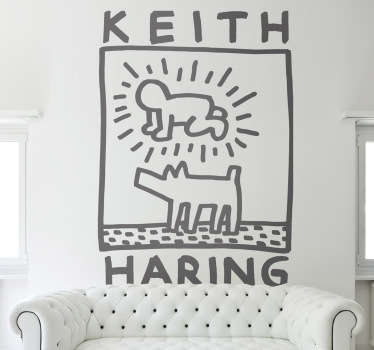 Keith Haring Aufkleber