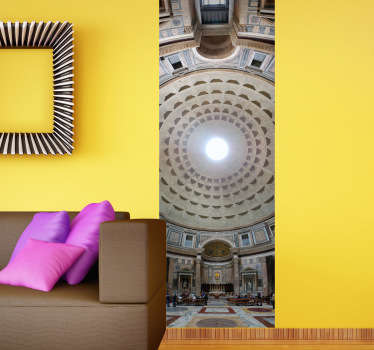 Panoramic Pantheon Wall Art Sticker