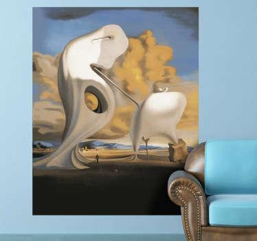 Vinilo decorativo pintura Dalí