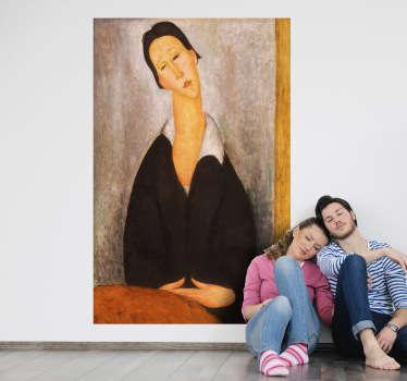 Vinilo decorativo pintura Modigliani