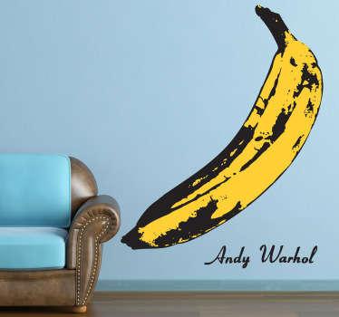 Vinilo decorativo plátano Warhol