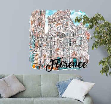 Questo poster italiano con adesivo florence country può essere decorato sul tuo soggiorno, camera da letto e qualsiasi altro spazio. Disponibile in qualsiasi dimensione di interesse