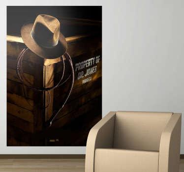 Poster adhésif Indiana Jones