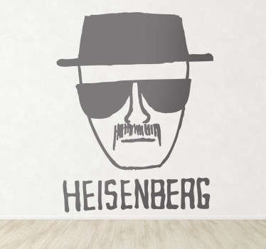 Vinilo decorativo dibujo Heisenberg