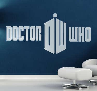 Vinilo decorativo Doctor Who
