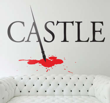 Castle Logo Sticker