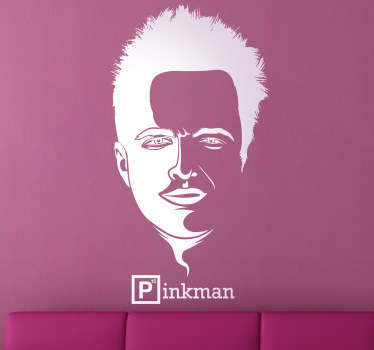 Sticker decorativo logo Pinkman