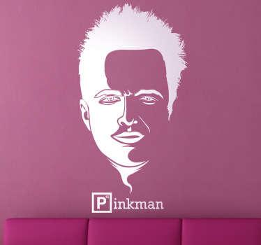 Sticker portrait Pinkman