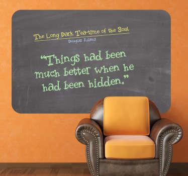 Chalkboard Blackboard Sticker