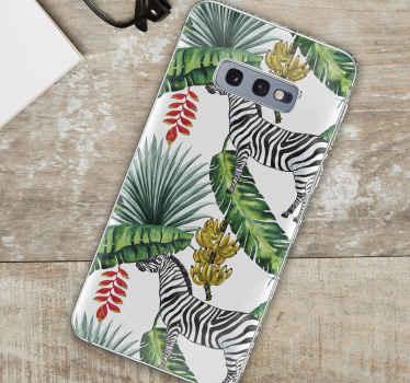 Skin de Samsung con motivos decorativos de naturaleza para embellecer tu móvil como a tu te gusta ¡Envío exprés!