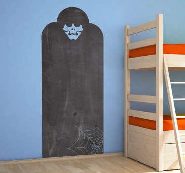 Skeleton Tomb Blackboard Sticker
