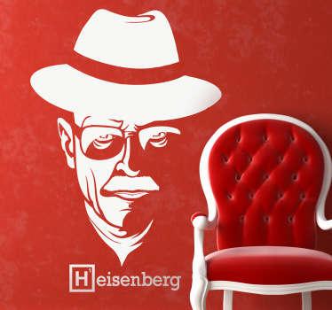 Heisenberg Silhouette Wall Sticker