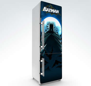 Sticker decorativo Batman frigo