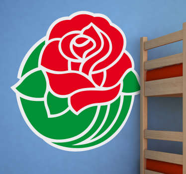 Rose Bowl Logo Wall Sticker