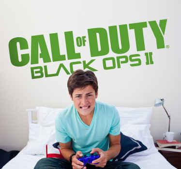 Sticker logo Call of Duty Black Ops