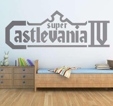 Vinilo decorativo Castlevania IV