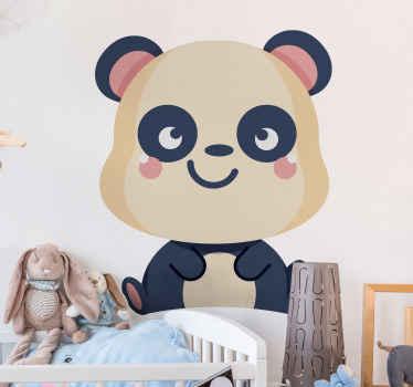 Voeg een geweldige kleine panda muursticker toe om de kamer van uw kind een schattig tintje te geven met een product dat bij uw voordeur kan worden bezorgd.