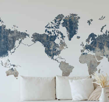Incredible world map stickers for all travel or cartography enthusiasts! Our world map stickers not only offer you a fantastic decoration option