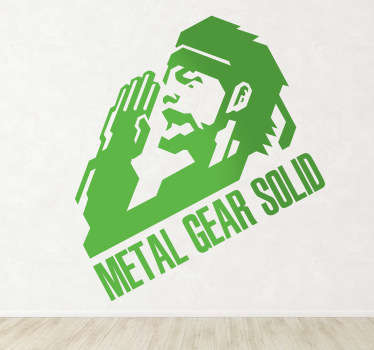 Vinilo decorativo Metal Gear Solid
