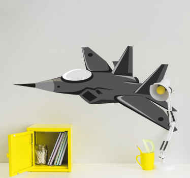 If your have a son or daughter in your home that is into either war movies or airplanes, then this aircraft figher wallstickers is perfect for them!