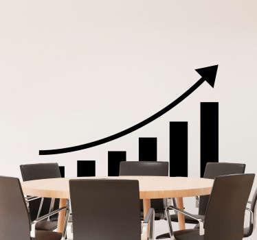 Positive Business Chart Sticker