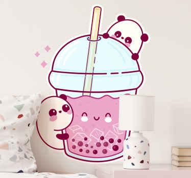Pokud vy nebo vaše děti milujete pití mléčného čaje, pak je tato tapetka anime panda drink ideální pro vás! Objednejte si ji ještě dnes a brzy ji obdržíte!