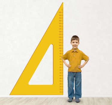 Kindersticker Meet triangel