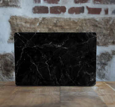 Black marble laptop skins sticker to beautify and enhance the look of your laptop. Easy to apply and you can remove it anytime without challenge.