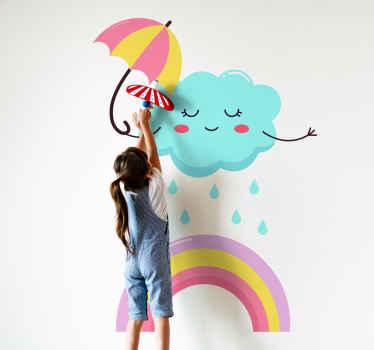 Remplissez l'atmosphère de la chambre de votre enfant d'une ambiance joyeuse et intéressante dans notre illustration originale