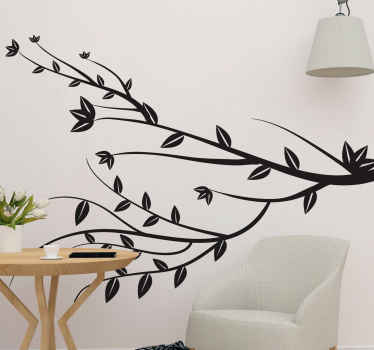 Simple, pretty and elegant tree branch decal that you can decorate any space in a house with. It is easy to apply and available in various sizes.