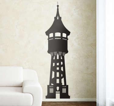 Vinilo decorativo torre aigua Sabadell
