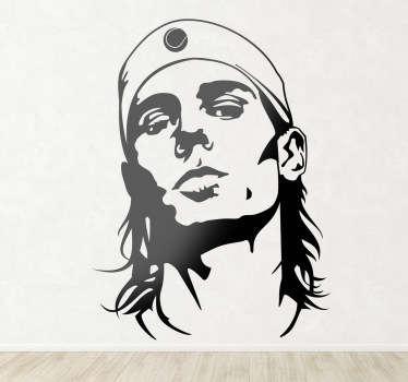Sticker decorativo Rafael Nadal
