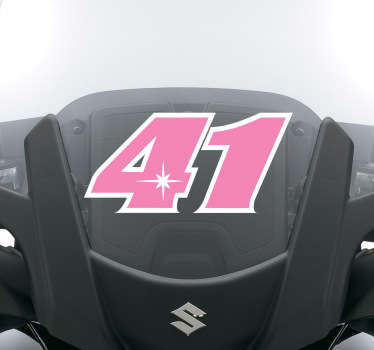 Numeri adesivi moto 41 Espargaró