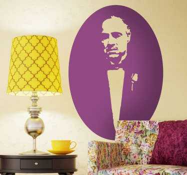 Sticker film Vito Corleone