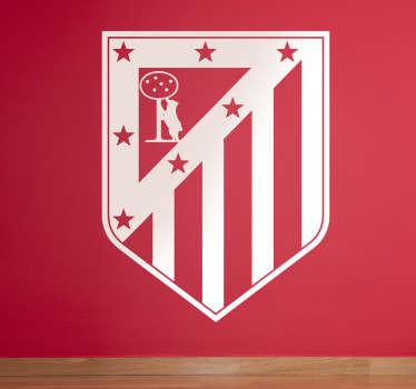 Vinilo decorativo del escudo del club colchonero para los más hooligans del equipo madrileño.