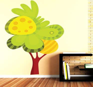 Wandtattoo Baum Illustration