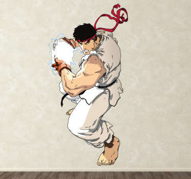 Ryu Street Fighter Aufkleber