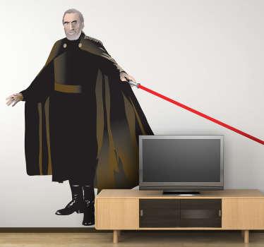 Pegatina de uno de los aliados del Imperio en la saga de películas de George Lucas.