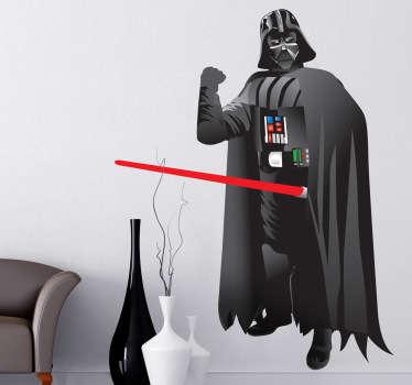 Darth Vader Comic Aufkleber