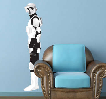 Imperial Army Soldier Wall Sticker