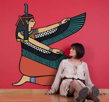 Sticker mural déesse égyptienne