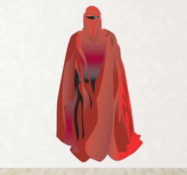 Sticker decorativo guardia rossa