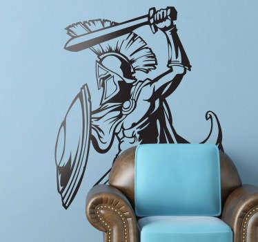 Autocolante decorativo Leonidas 300