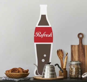 Drink Refreshment Kitchen Sticker