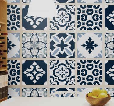 Maravilloso azulejos vinílicos de cemento para decorar tu cocina y tu baño. Con una concepción fascinante con pocos colores ¡Envío exprés!