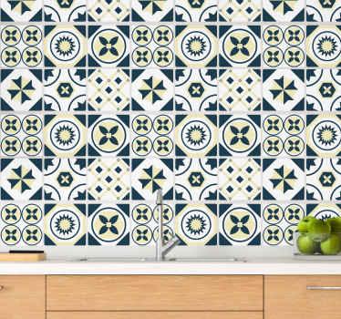 Fantásticos azulejos vinílicos estilo alionsa para que decores tu baño o cocina de forma original. Producto de calidad ¡Envío exprés!