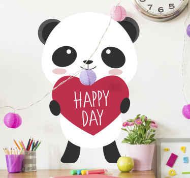 Ce panda anime pour une journée heureuse est le cadeau parfait pour vos enfants. C'est parfait pour une occasion spéciale et c'est un très mignon