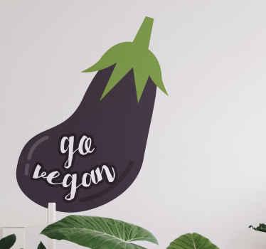 Vaya frase vinilo pared vegana: adecuada para decorar una tienda, restaurante y para la cocina y el comedor del hogar ¡Envío exprés!