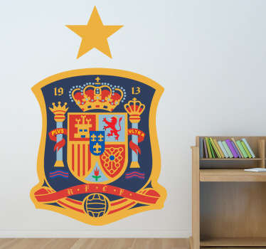RFEF Crest Wall Sticker